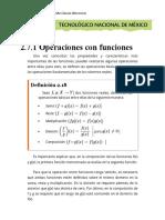 2.7.1 Operaciones Con Funciones