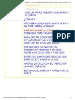 Consultas y Ayuda Espiritual Venezuela - Conjuro Del Tabaco Para Preguntar Por Alguien - Paleros,Santeros y Espiritistas Consagrados