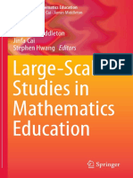Large Scale Studies in Mathematics Education