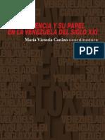 2016 María Canino La Ciencia y Su Papel en VNZ XXI