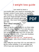Diet and Weight Loss Guide