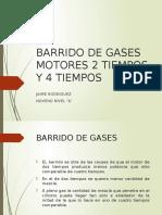 Comparacion Barrido de Gases Motores Dos Tiempos y Cuatro Tiempos