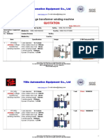 Quotation for Coil Winding