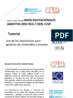 Tutorial Uso Repositorios Red REA CVSP