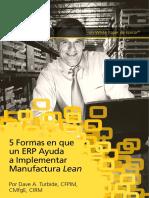 5 Formas en Que Un ERP Ayuda a Implementar Manufactura Lean