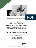 Unicode System Outside Communication for ABAP Programmers - Exercises.pdf