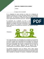 Tarea 1 - Origenes Del Comercio en El Mundo - Martha Amaya