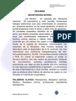 Neondosporosis Bovina