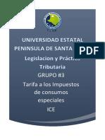 Tarifas Ice