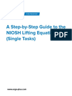 NIOSH Lifting Equation STEP by STEP NLE-Single-Task-Guide-V-2.0