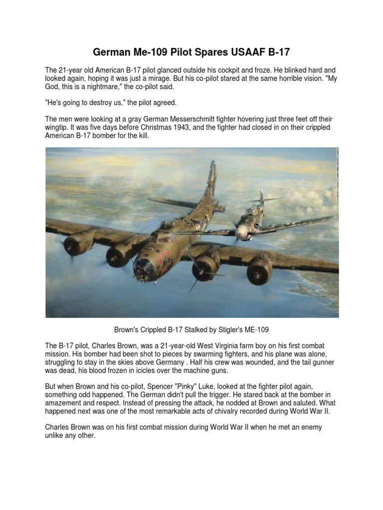 brown and stigler b-17 pdf | Military Aviation | Aviation