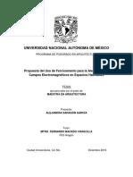 Propuesta de uso del ferrocemento para la atenuación de campos electromagnéticos en espacios habitables
