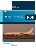 MH370 – First Principles Review