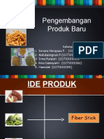 PPB KELOMPOK 1 - Proses Produksi Fiber Stick