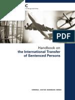 Handbook of Transfer of Sentenced Persons