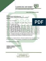 Carta de Presentacion Municipalidad Urubamba Oct 2016 PDF