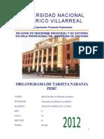 Tarjeta Naranja Peru