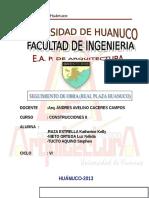 Especificaciones Técnicas Generales-HUANUCO