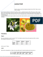 The Chemistry of Passion Fruit