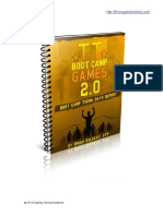 Boot Camp Theme Days Report