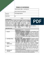 TOR Fisheries Business Officer – Inner Banda Arc