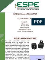 Ingeniería Automotriz Rele Automotriz