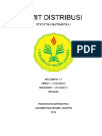 Limit Distribusi