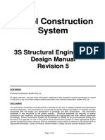 3S Structural Engineering Design Manual - Revision 5