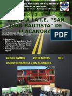Visita a La I.E San Juan Bautista