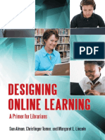 Susan W. Alman, Christinger Tomer, Margaret L. Lincoln-Designing Online Learning_ a Primer for Librarians-Libraries Unlimited (2012)