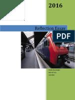 critical reflection essay-1