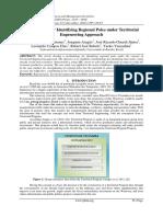 Methodology for Identifying Regional Poles under Territorial Engeneering Approach