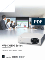 VPL-CH300 Series Brochure