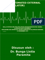 Pelatihan AGD Cedera Olahraga - AED