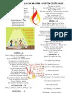 Cantos Para Vigilia de Pentecostes