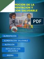 Promocion de La Alimentacion y Nutricion Saludable