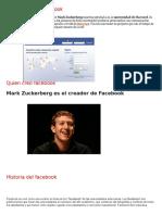 Definición Del Facebook