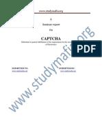 ECE Captcha Report