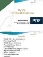 30 MySQL Tech Overview FSFS08