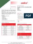 Aalco Metals Ltd Aluminium Alloy 5083 0 H111 Sheet and Plate 149