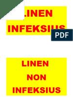 Linen Infeksius Dan Non
