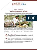 Applications_2016 SEED Awards in India