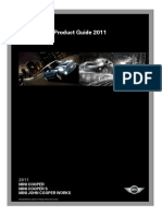 2011 MINI Hatch Product Guide and Pricing