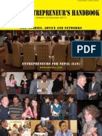 Entrepreneurs for Nepal handbook