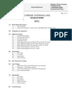 Siement Turbine Over Hauling Procedure