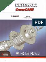 Parts Manual Yb4411