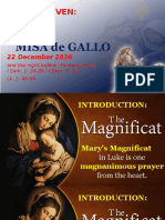 Day 7 - Misa de Gallo 2016 Homily
