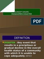 Disaster Basic Principle (Part1)