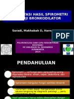 Interpretasi Spirometri Dan Uji Bronkodilator Ppt