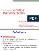 12 Conservation of Medicinal Plants